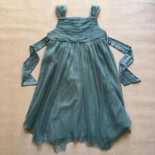 Monsoon Girls Beautiful Teal Bridesmaid Tulle Sequin Wedding Party Dress Age 5-6