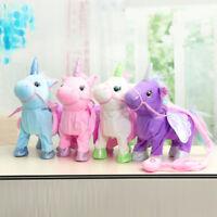 Magic Walking & Singing Unicorn Toy For Kids Christmas  ! US