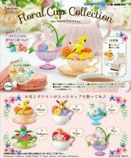 Re-Ment Pokemon Floral Cup Collection Miniature Figure Full set Pikachu #10566