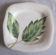 """Salad Plate Fitz & Floyd China Manhattan Garden Pattern 9 3/8"""""""