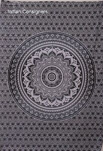 Poster Tapestry Beautiful Tapestry Handmade Indian Wall Hanging Small White