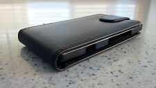 Sony Xperia S Leather Flip Case (Black)