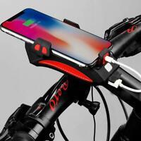 Multifunction Bicycle Speaker Bike-Headlight Cycling Holder Phone N9E8