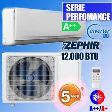 CONDIZIONATORE CLIMATIZZATORE INVERTER ZFC12000V BTU ZEPHIR A++/A+ POMPA CALORE