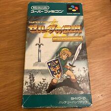 Nintendo Super Famicom Zelda Japanese NTSC-J