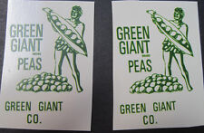 Tonka Green Giant utility truck water slide decal set