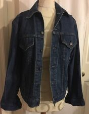 Levi's Strauss 70506-0216 Denim Jean Jacket Men's Size 36 Unisex 80's Red Tab