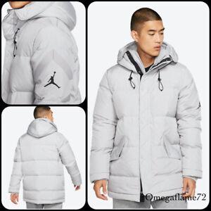 Nike Jordan Wings Down Fill Parker Jacket, BQ4170-059, Sz Medium, Atmos Grey