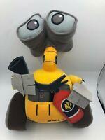 Official Disney Pixar Wall E Walle Yellow Robot Plush Kids Soft Stuffed Toy Doll