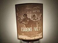 Resident Evil 2 Lithophane Incandescent Night Light