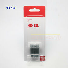 New NB-13L NB13L Replacement Li-Ion Battery for Canon PowerShot G7 X G7X Camera