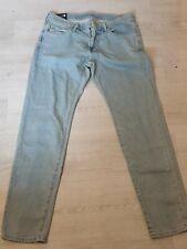 Para Hombre Diseñador Abercrombie & Fitch Jeans Super Slim Felix BNWT RRP £ 70 Tamaño..