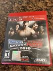 Wwe Smackdown Vs Raw 2010 Sony Playstation 3 Ps3 Game Red Box Rare Greatest Hits