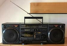 PANASONIC RX-CS750 Kassettenrekorder Autoreverse, Equalizer, Extra Bass System