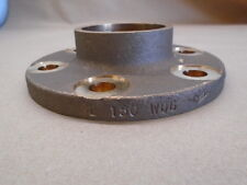 "Pipe Flange CS4730-0108A030DJ  2"" 150 WOG Brass 6-Bolt Holes Socket Brazing Neck"