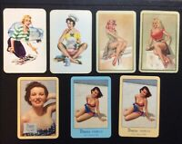 Swap Playing Cards - Pin ups Collectable Vintage Retro Advertising
