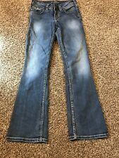 Silver Suki Jeans Womans 25/30 A8