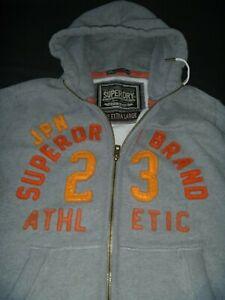 #9261 SUPERDRY Zip Up Hoodie Size XL