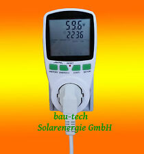 Strom Spar Messgerät für Photovoltaikanlagen Solaranlagen Wechselrichter Soladin