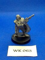 WH40K - Imperial Guard - Tanith, Gaunts Ghosts, Colonel Corbec - Metal WK63