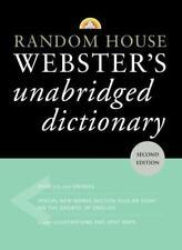 Random House Webster's Unabridged Dictionary by Random House Audio Publishing...