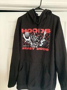 Hoods Hoodie Hardcore Sacramento Beast Mode Punk Rock Hooded Sweatshirt