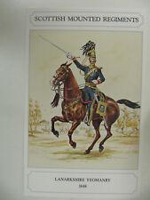 Lanarkshire Yeomanry (1848) - Military Postcard (Geoff White Ltd.)