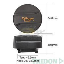 TRIDON OIL CAP FOR Audi TT-Quattro & S-Line 01/04-06/11 V6 3.2L 24V,32V TOC548