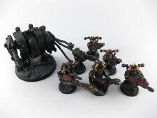 Cybot - Dreadnought + 6x Havocs der Chaos Space Marines - teilweise bemalt -