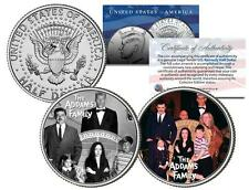 THE ADDAMS FAMILY * TV SHOW * Colorized JFK Half Dollar 2-Coin Set Fester Lurch