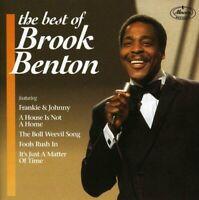 Brook Benton - Best Of - Brook Benton CD 4KVG The Fast Free Shipping