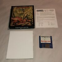 RARE UNTESTED Commodore Amiga Game BARBARIAN! Psygnosis Battler W/ POSTER
