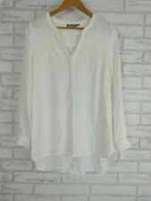 SUSSAN Top/Blouse Sz 12 Cream/Off White
