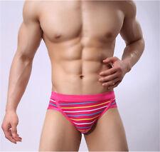 Hot Mens Sexy Underwear Fashion Briefs Trunks Gentle Cotton Soft Underpants