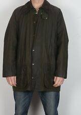 "BARBOUR Beaufort Wax Jacket 46"" XL XXL Green (C4C)"
