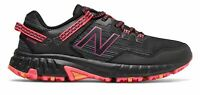 New Balance Women's 410v6 Trail Shoes Black with Pink & Pink