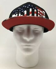 New listing Boston Patriotic American Flag Embroidered Cap Hat One Size Fits Most Strapback