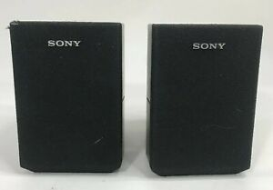Sony SS-MSP1 Universal Surround Sound Satellite Stereo Speaker Set of 2 Black