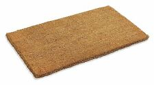 "Coir Natural Coco Doormat 100 Coconut Fiber 18""x 30""x 1"" Mat Outdoor Entrance"