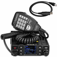 RT95 Dual Band VHF 144-146MHz UHF430~440MHz 200CH Mobile Car Radio Program cable