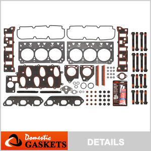 97-02 Chevrolet Camaro Pontiac Firebird 3.8L OHV 2nd Design Head Gasket Bolt Set