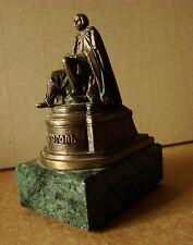 Ukrainian Russian Sculpture Statue figurine BRONZE N. GOGOL writer metal stone