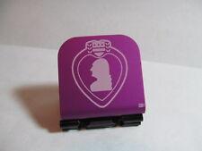 Purple Heart Medal Purple Laser Etched Aluminum Hat Clip Purple Brim-it