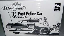 AMT Ertl '70 Ford Police Car Hobby Heaven 1:25 Scale Model Kit #6499 Complete