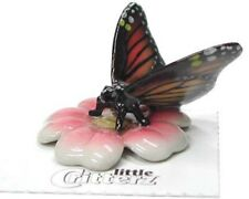 ➸ LITTLE CRITTERZ Insect Miniature Figurine Monarch Butterfly Milkweed