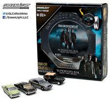 GreenLight HOLLYWOOD *SUPERNATURAL* FILM REEL SET of 4 *Impala Jeep Vic+* NIP!