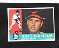 6877* 1960 Topps # 395 Hoyt Wilhelm NM-MT