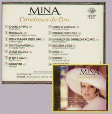 """MINA """" CANCIONES DE ORO """" CD SIGILLATO PERFIL - DIVUCSA 1991"""