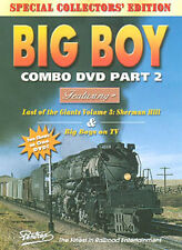 Big Boy Combo Part 2 DVD Pentrex Union Pacific UP Sherman Hill pacing Cab Ride