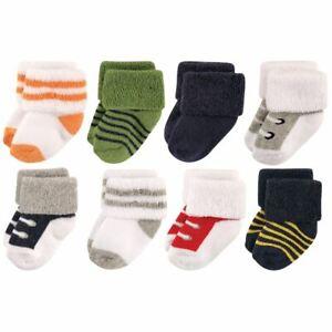 Luvable Friends Socks, 8-Pack, Boy Athletic
